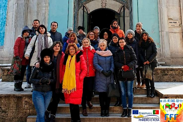 "Projeto Erasmus+ ""FIT FOR FUTURE"" na Turquia"